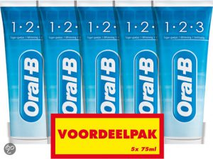 oralb-123-fresh-mint-5-x-75-ml-tandpasta